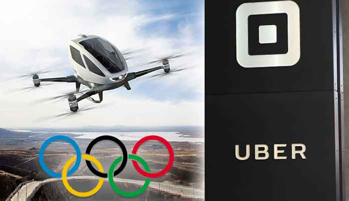 Cab Hailing Company Introduces Uber Flying Taxi