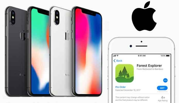 Pre-Order Apps by Apple