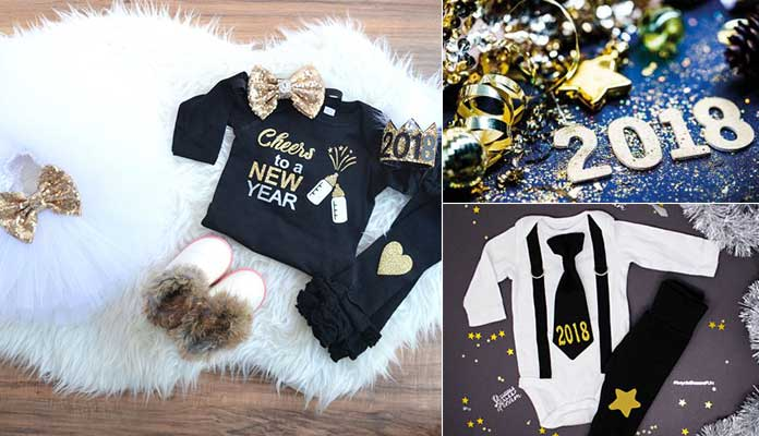 Your choice of wear on New Year 2018