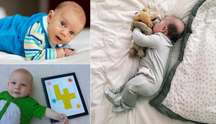 Four Month Old Baby's Sleep Regression