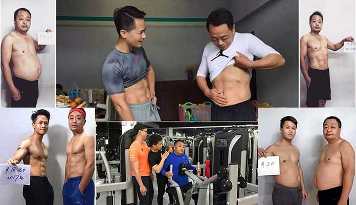 Chinese family's weight loss