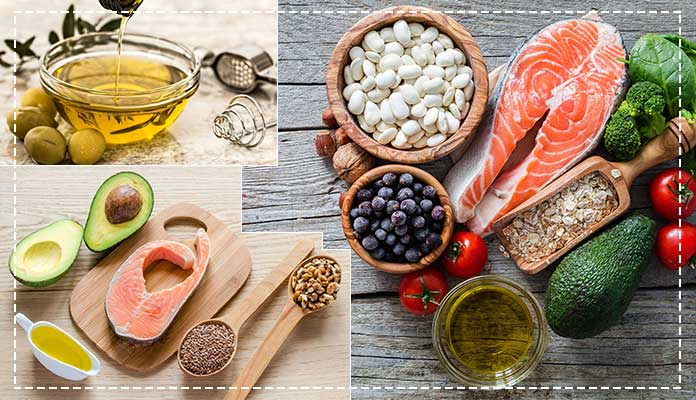 Monounsaturated and polyunsaturated fat
