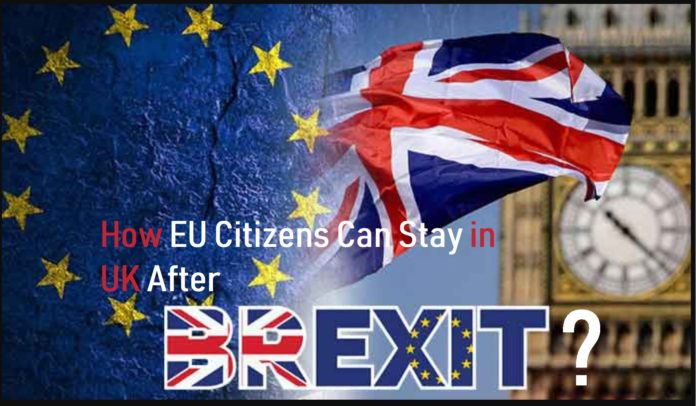 EU citizens stay in UK after Brexit