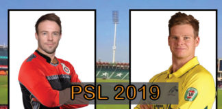 Pakistan Super League 2019