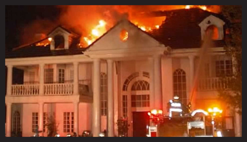 California Wildfires Celebrity Homes