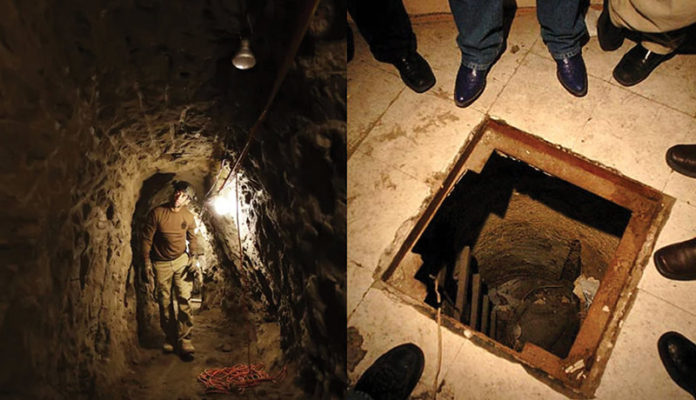 Tunnels Under US-Mexican Border