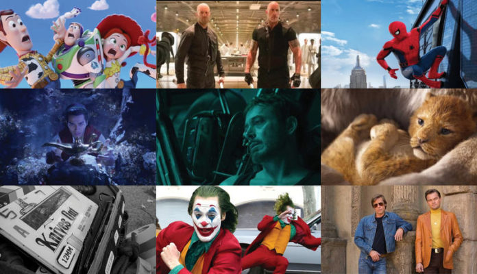 New Hollywood Movies 2019