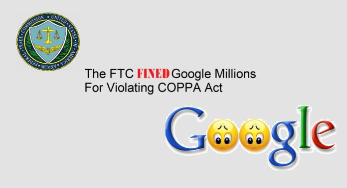 Google Fined by FTC