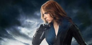 Scarlet Johansson in Black Widow