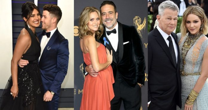 Celebrity Couples with Age Gap