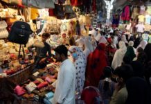Pakistan Crowded Markets