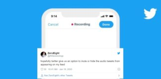 Audio Tweet Feature