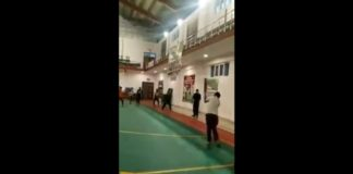 Playing Cricket in Expo Center