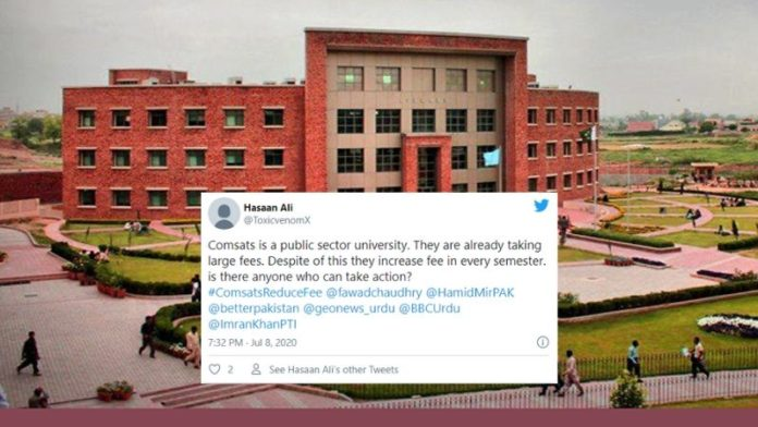 Comsats University Fee Hike