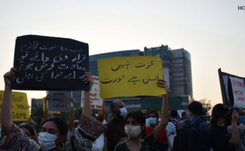 Anti-Rape Protests in Pakistan Slogans
