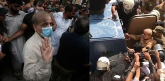 Shahbaz Sharif Arrest