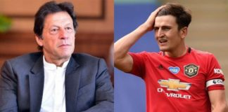 Imran Khan at Harry Maguire
