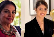 Sajal Ali and Shabana Azmi