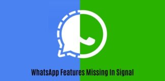 Signal Messaging App