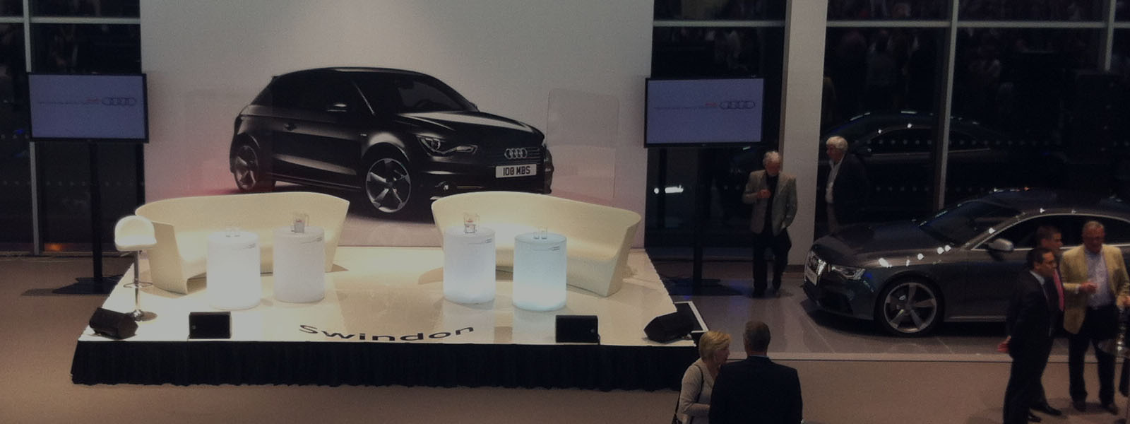 Audi Car Showroom Launch Presentation – Audi UK