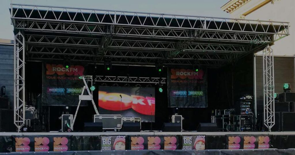 Image showing a stage at an event