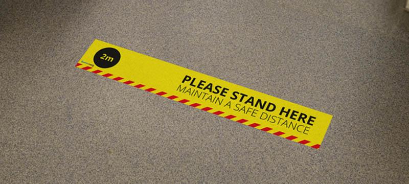 Coronavirus-Floor-Sticker