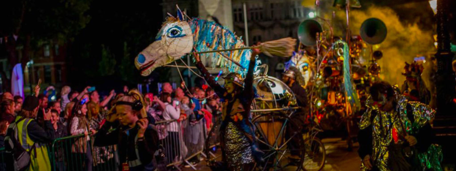 Image of Light Parade Giant Horse Puppet