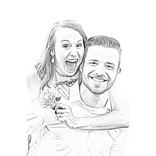 Digital Art for Couple