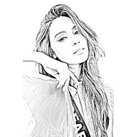 Pencil Art – Digital – Small – For Her