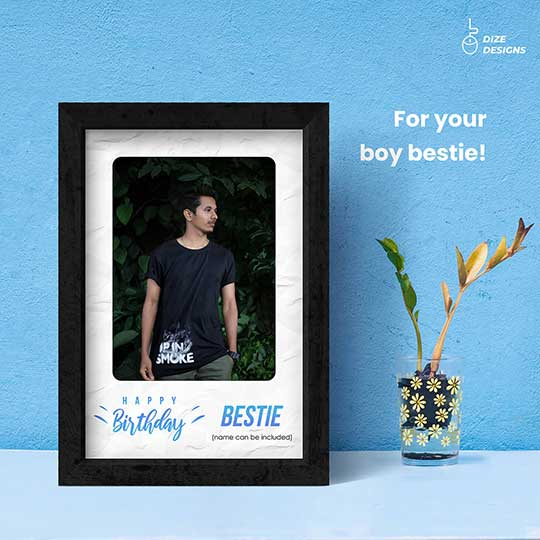 Birthday Frame for Bestfriend
