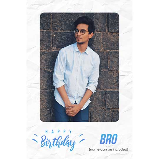 Birthday Frame for Brother