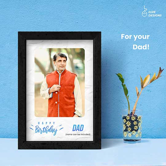 Birthday Frame for Dad