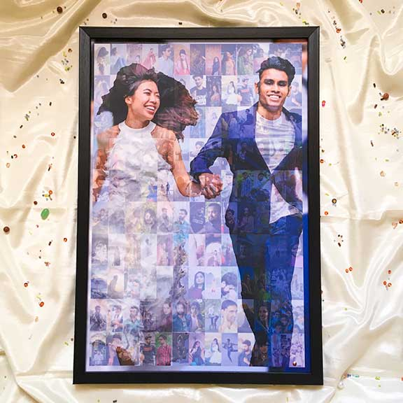 Mosaic Collage – Large – for Couple