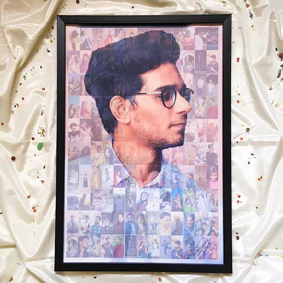 Mosaic Collage – Large – For Him