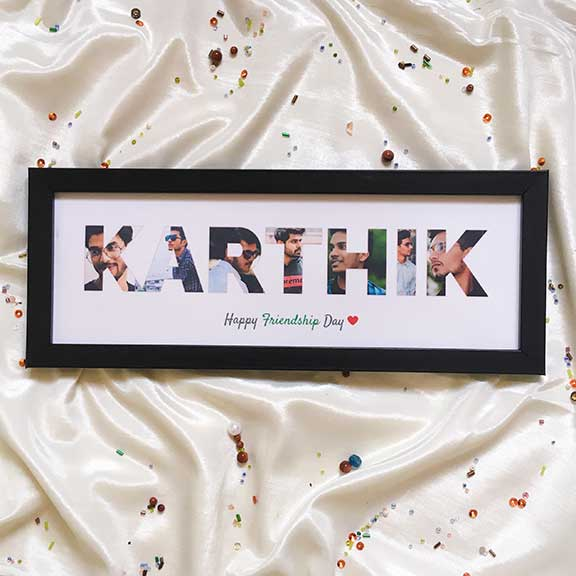 Name in a frame – For Him
