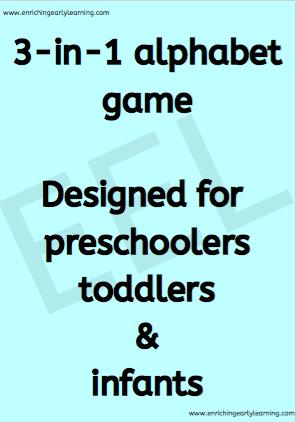 3-in-1 alphabet game