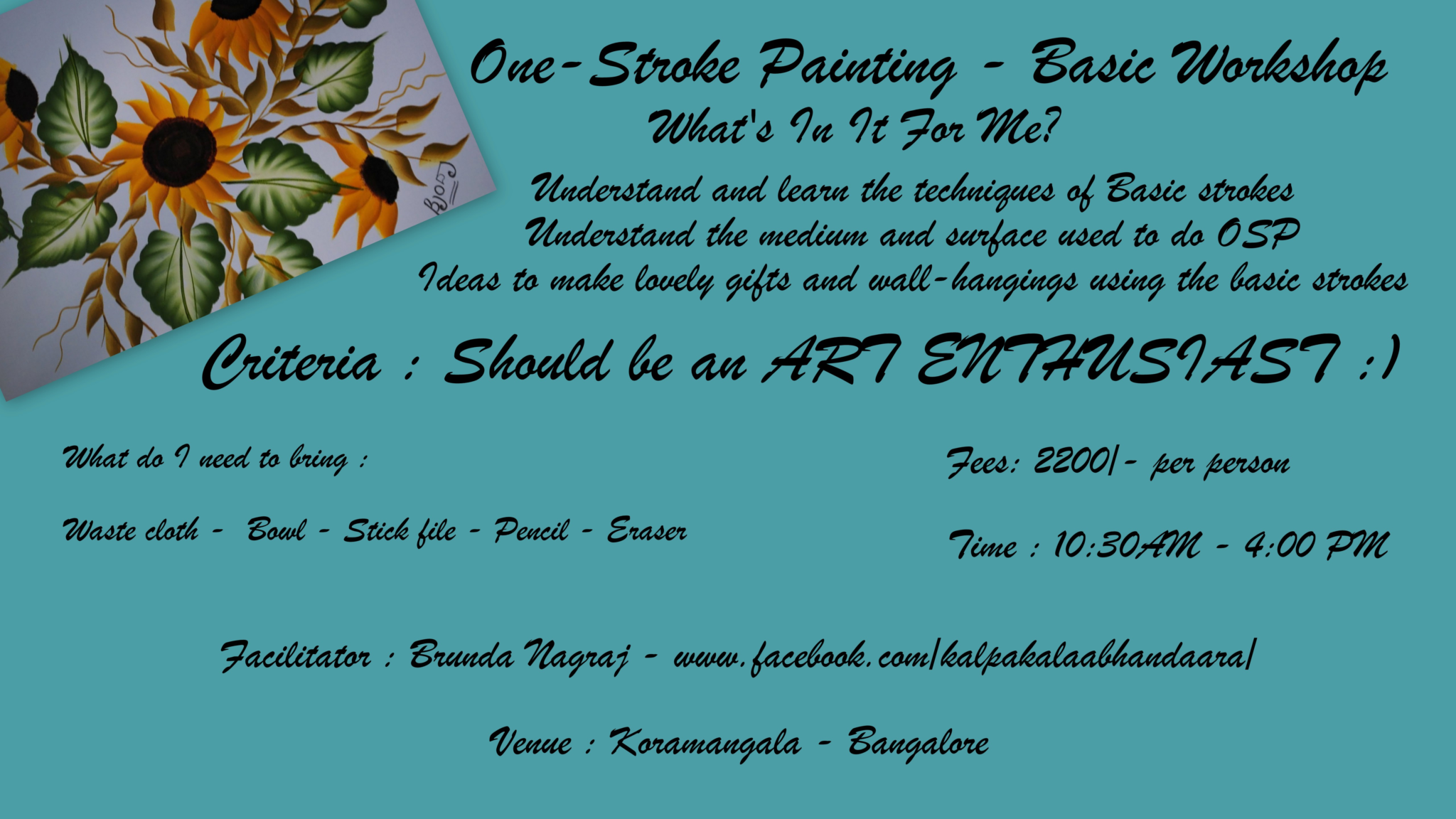 One stroke painting, bng
