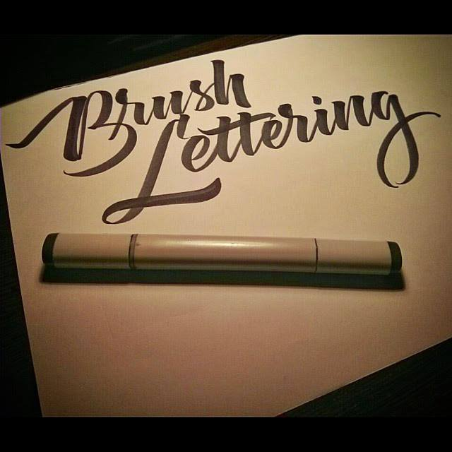 CALLIGRAPHY CLASSES, BRUSH LETTERING