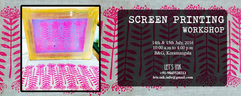 Screen printing classes in bangalore