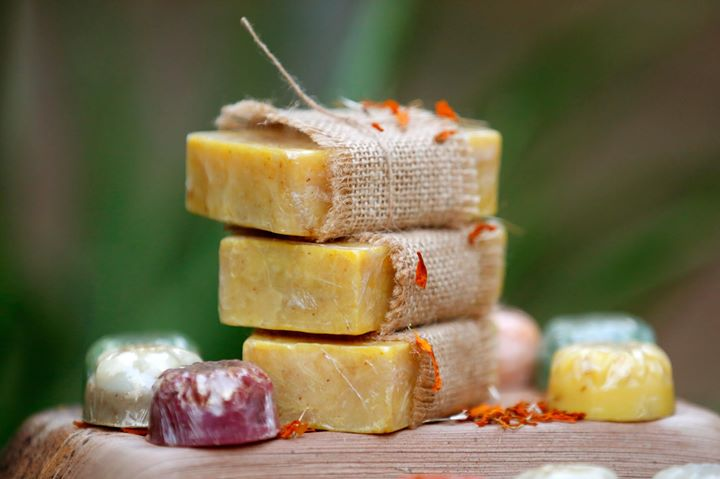 Natural handmade soap making workshop for beginners