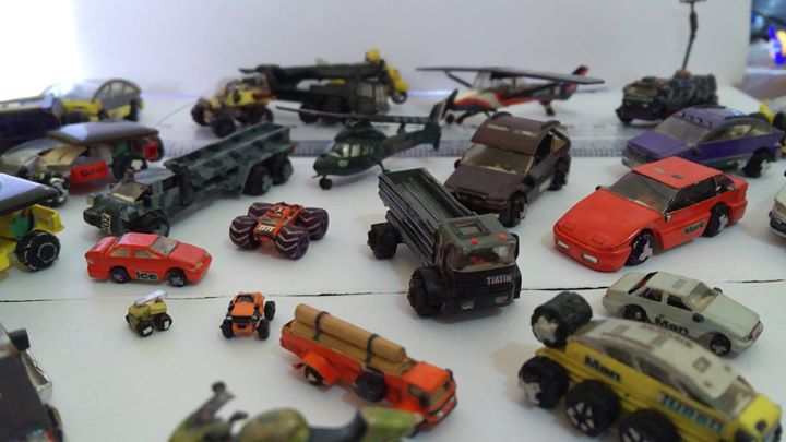 5 Miniature Vehicle models