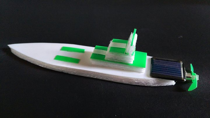 Solar Yacht – Make your own miniature model