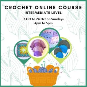 Crochet Online Classes for Intermediate