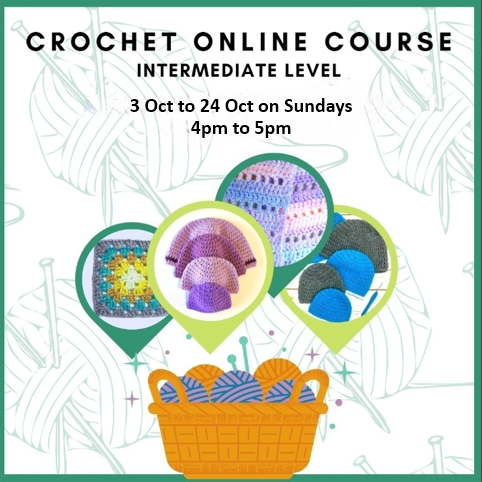Crochet Online Classes for Intermediates