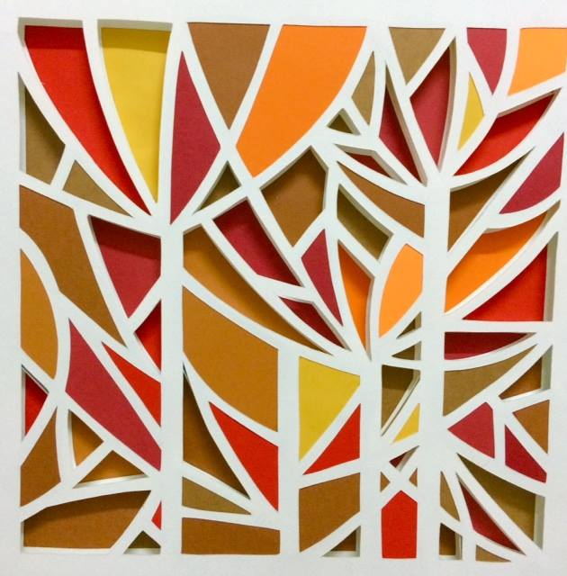 3D Paper Mosaic (Online workshop)