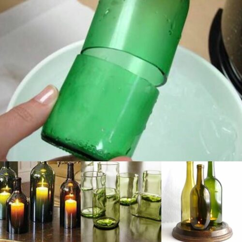 Glass Bottle Cutting and Lamp Making workshop for Beginners
