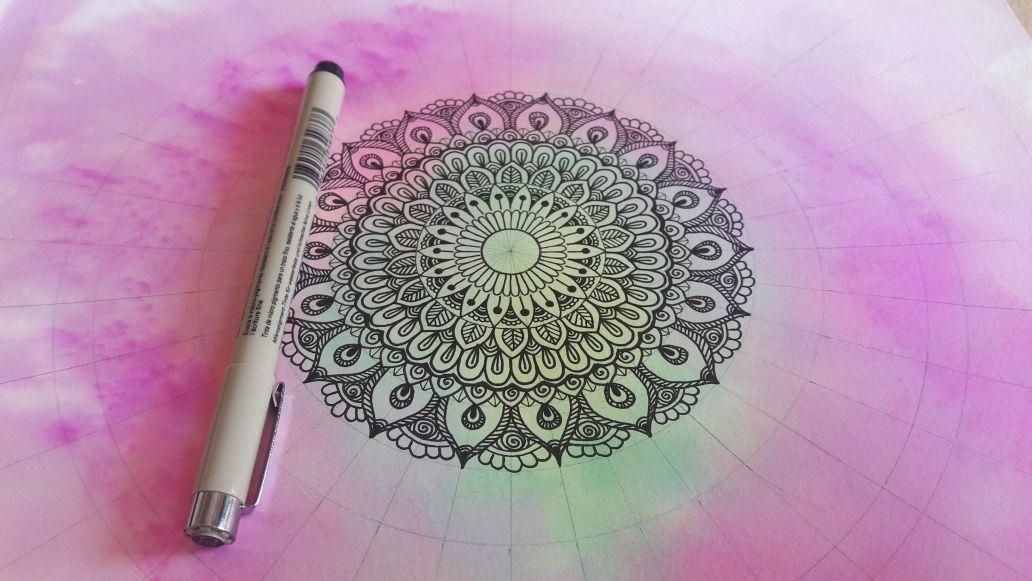 Drawing Mandala – Healing Mandalas for all