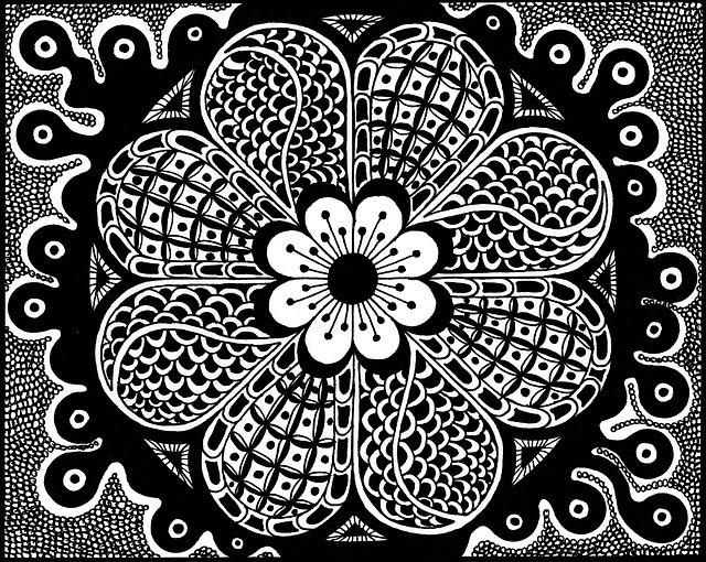 Zentangle  or Doodling