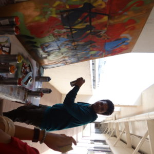 graffitti as team experience in hyderabad, bangalore, delhi, mumbai and chennai