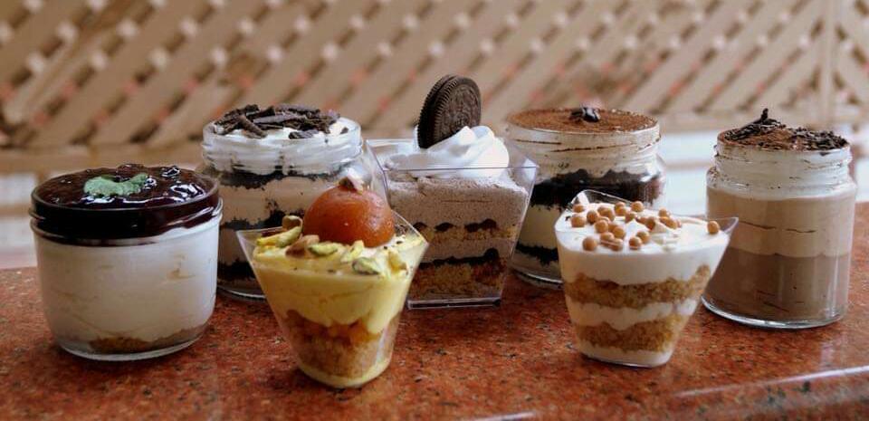 Cake Jars and Shot Glass Desserts- Beginner workshop in Bangalore
